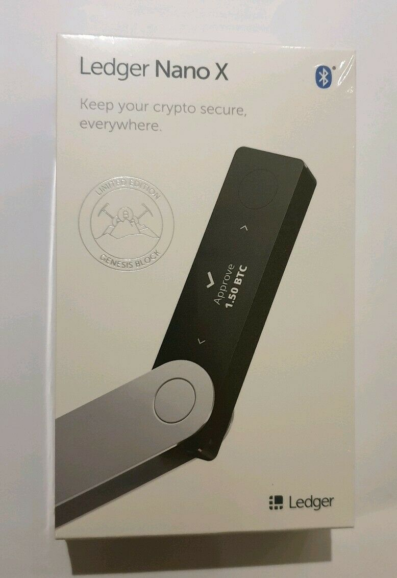 Ledger Nano X - Limited Edition Genesis Block