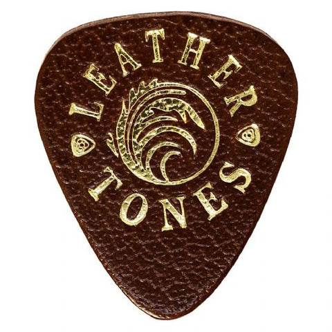 Timber Tones Leather Tones Brown 1 Guitar Pick