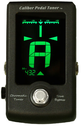 The GoGo Tuners Caliber Pedal Chromatic Pedal Tuner