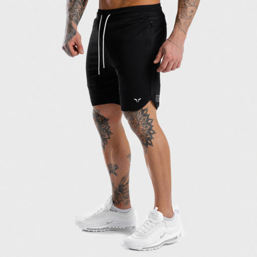 Squat Wolf Mens Hype Short Full Black