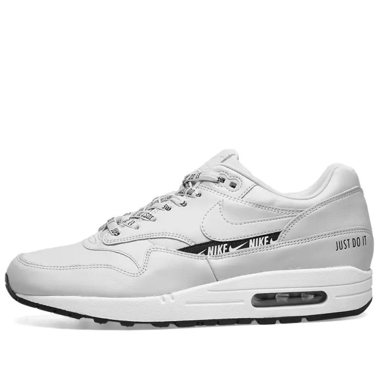 Nike Womens Air Max 1 SE - White/Grey/Black - Workout Crew Athletic Online