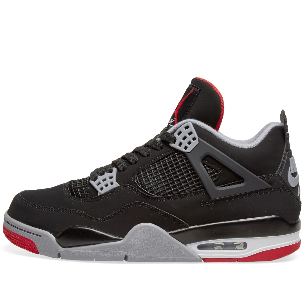 Air Jordan 4 Retro - Bred - Workout Crew Athletic Online