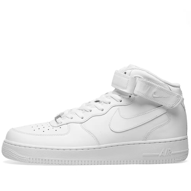 Nike Air Force 1 Mid 07 - White - Workout Crew Athletic Online