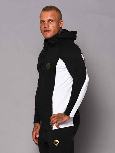 Beast & Beauty Mens Aesthetic 2 Tone Zip Up Hoodie - Workout Crew Athletic Online