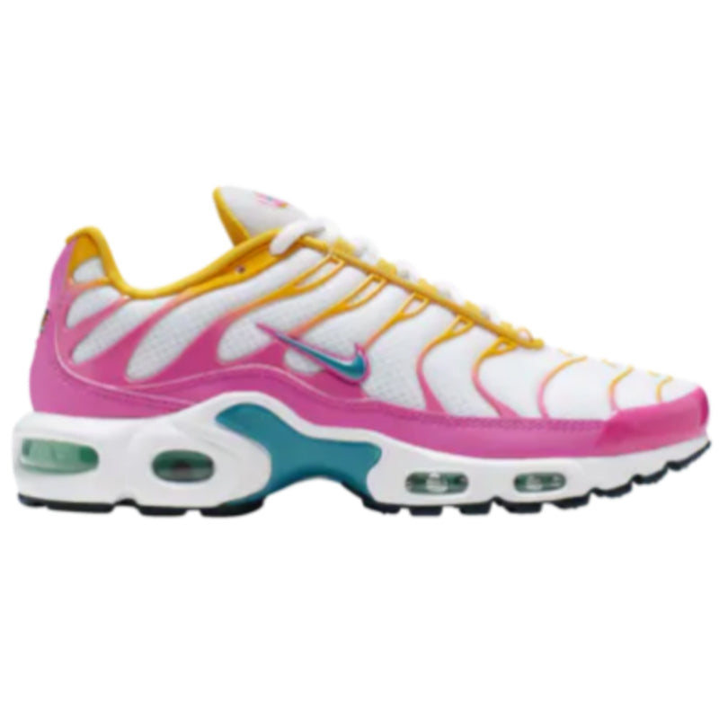Nike Womens Air Max Plus TN - Vast Grey/Spirit Teal/Tropical Twist - Workout Crew Athletic Online