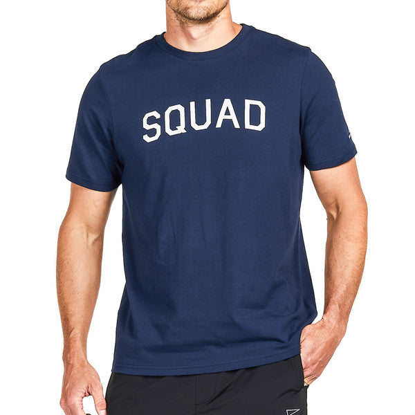 SQD Athletica - Squad Tee Navy - Workout Crew Athletic Online
