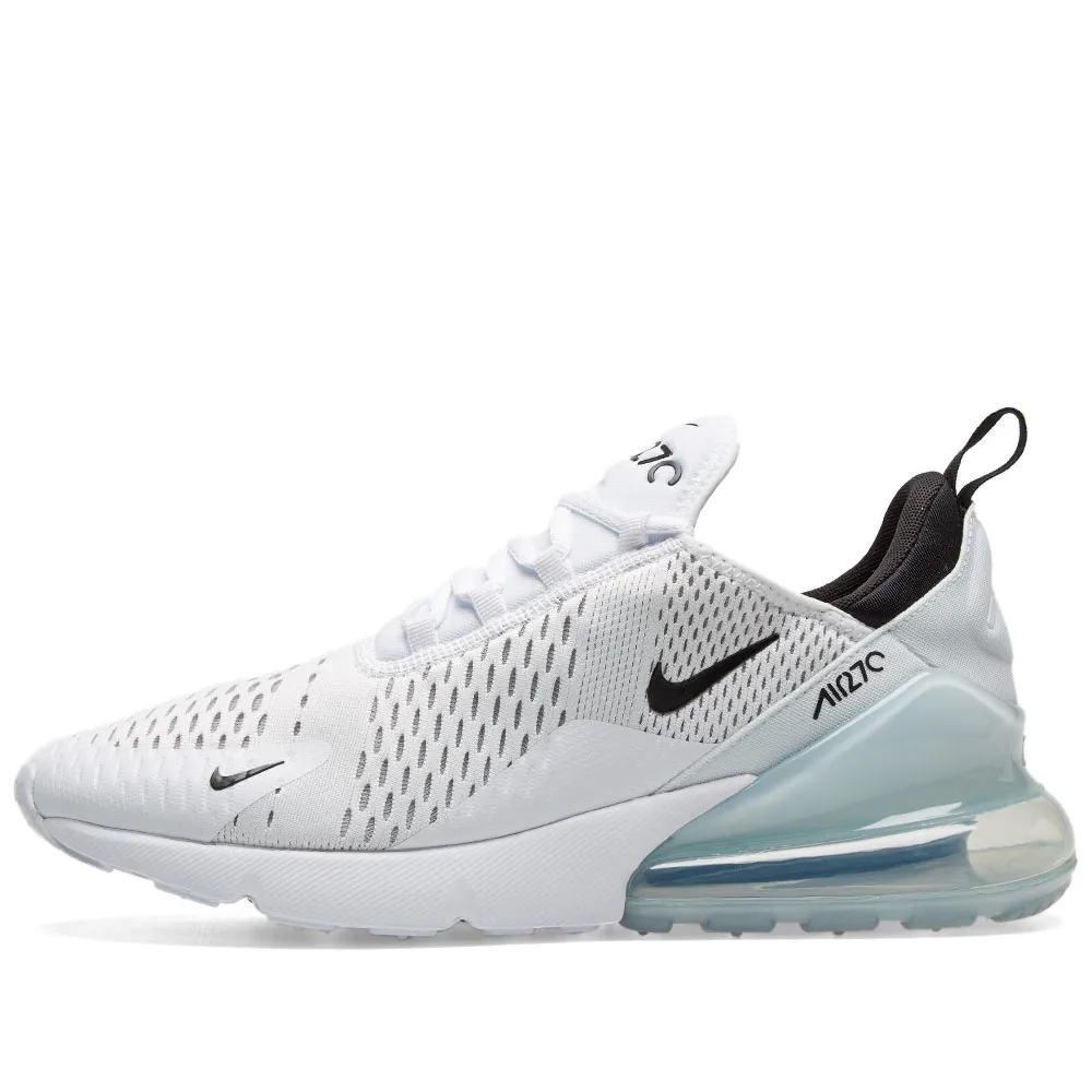 Nike Air Max 270 - White & Black - Workout Crew Athletic Online