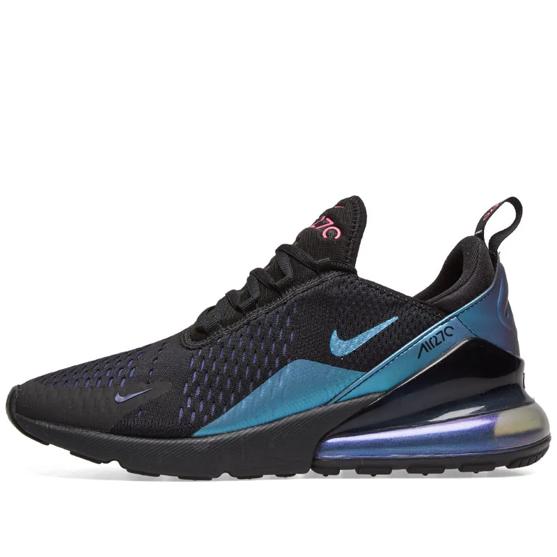 Nike Womens Air Max 270 - Northern Lights, Black/Fuchsia & Purple - Workout Crew Athletic Online