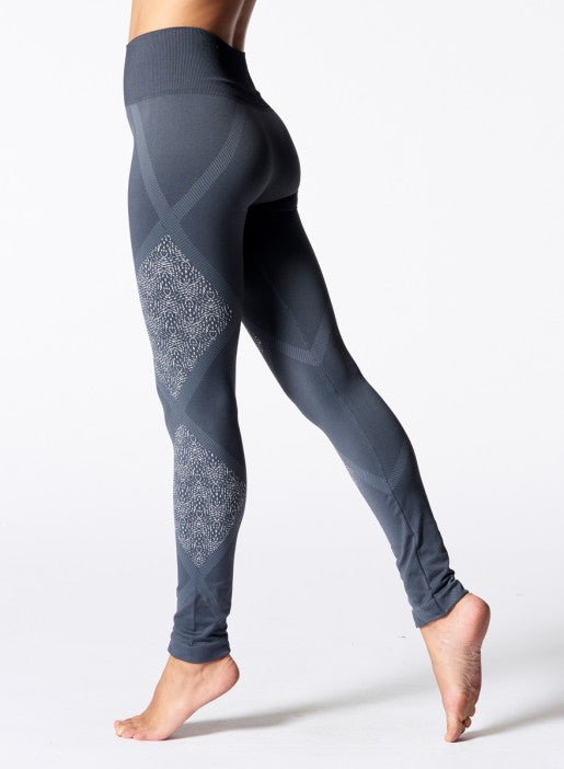 Nux Geneva Legging - Charcoal - Workout Crew Athletic Online