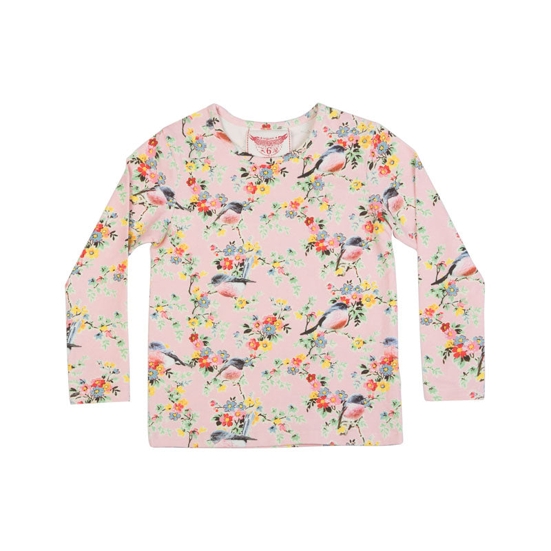 Long Sleeve T-Shirt - Vintage Flowers