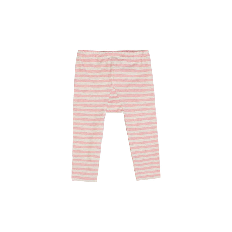 Leggings without Feet - Pink Stripes