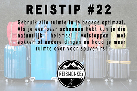travelhacks reistips backpack