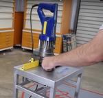 DIY Hydraulic Hole Punch Machine - Similar to Ironworker