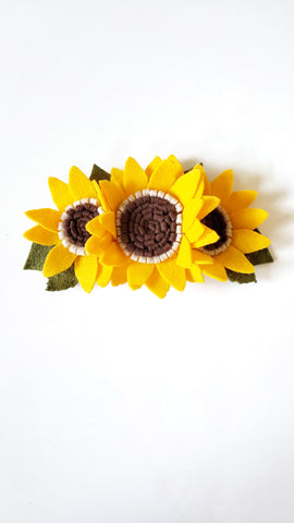 Chunky Sunflower Crown