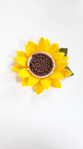 Chunky Sunflower Single Bloom
