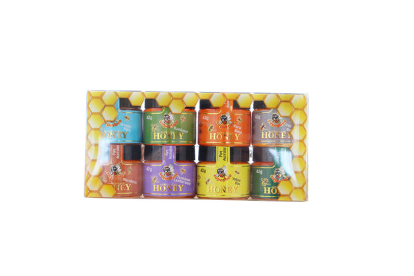 Gift Pack 8 x 42g Assorted Honey