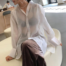 Load image into Gallery viewer, Sexy Fashion Long   Sleeve Blouse