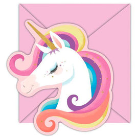 Birthday Invitations | Unicorn