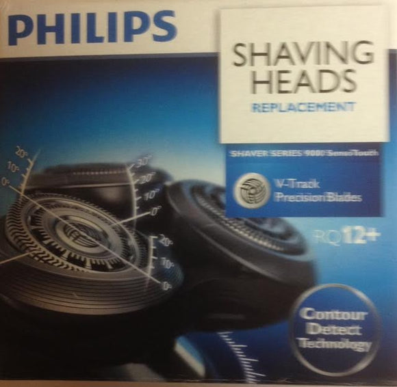 Philips Philishave RQ12+ SensoTouch 3D Rotary Cutting Head