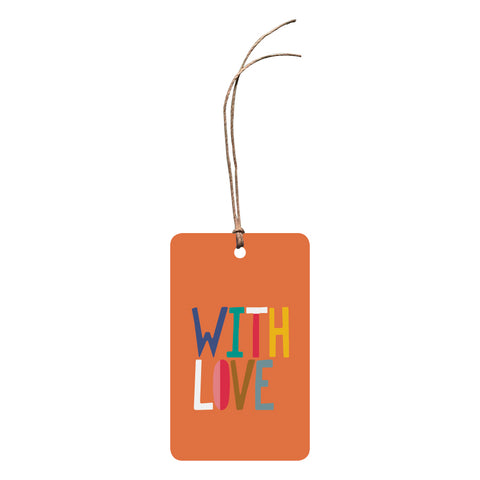 'With Love' Gift Tag