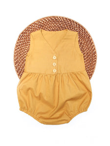 The Lee Romper - Mustard