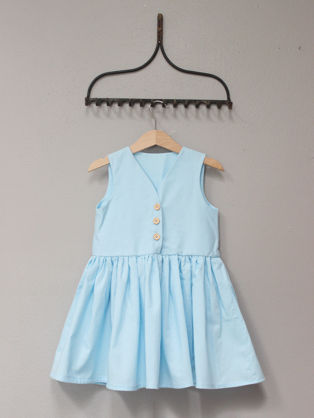 The Lynn Dress - Powder Blue