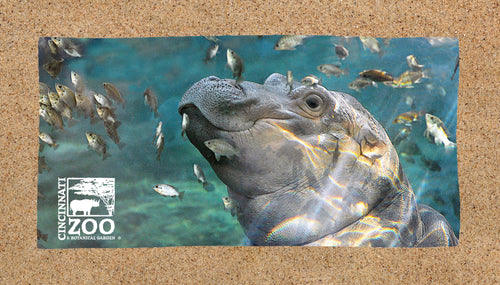 Towel Fiona w/ Fish Sublimated