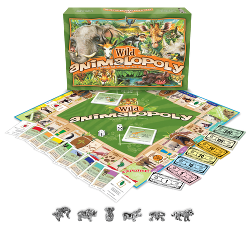 WILD ANIMAL-OPOLY GAME