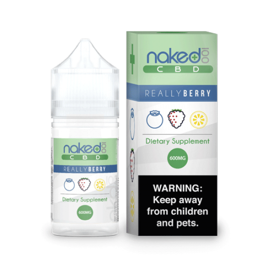 Really Berry by Naked 100 CBD 30ml