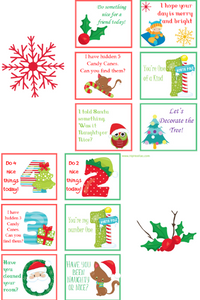 Cute Christmas Notes to print out