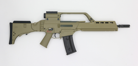Heckler und Koch G36 KV Tan AEG-Swiss Tactical Center-Swiss Tactical Center