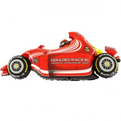 Foil Shape Formula 1 Car Red Balloon