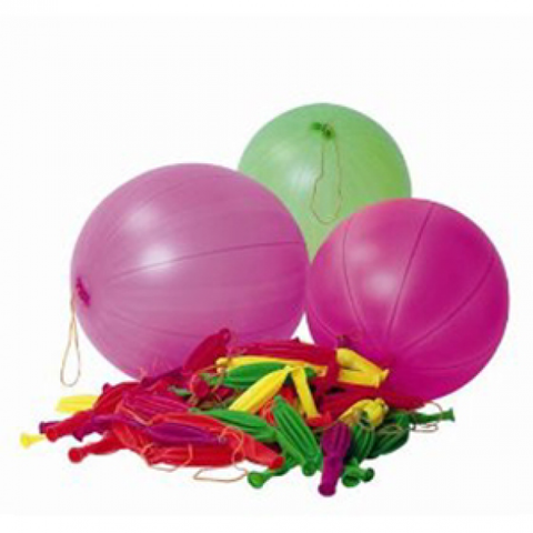Latex Punchball Balloons Assorted | 16""