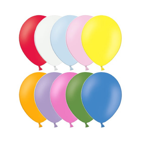 Latex Assorted Standard Balloons | 10""