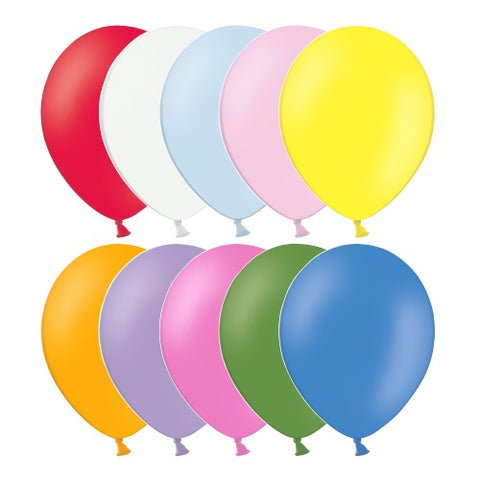 Latex Assorted Standard Balloons | 12""