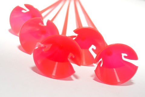 One-piece Balloon Sticks | Red