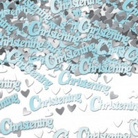Blue Christening Confetti