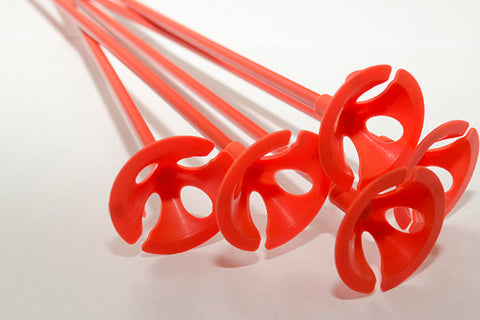 Balloon Cups & Sticks | Red
