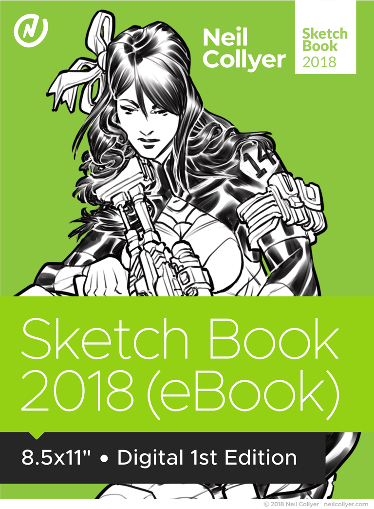 Sketch Book 2018 eBook by Neil Collyer