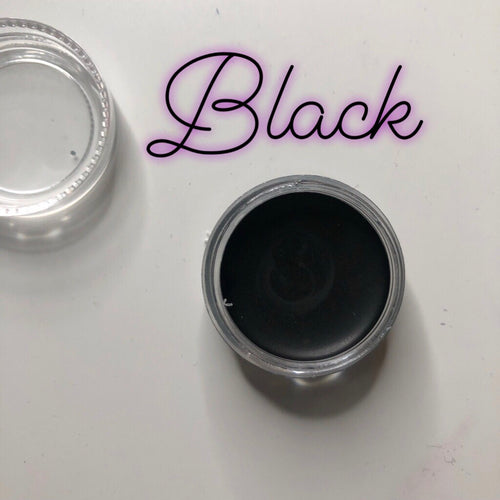Black Paint Pot