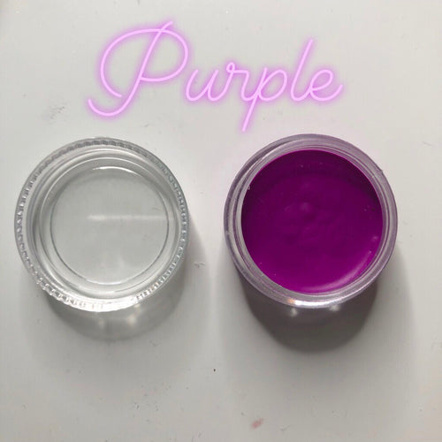 Purple Paint Pot