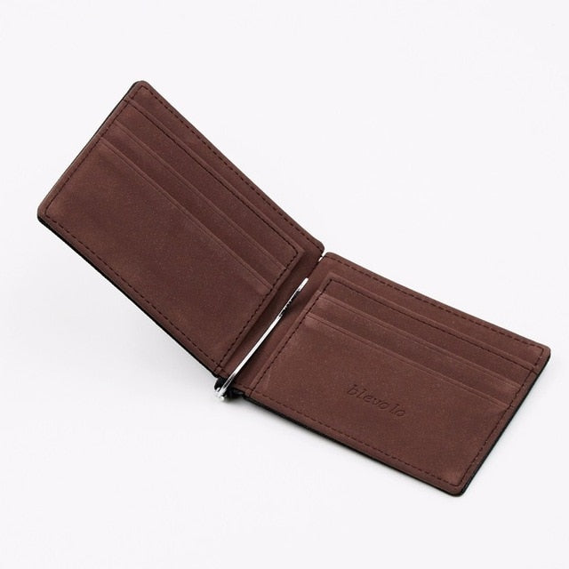 Mens Slim Wallet in Multiple Colors