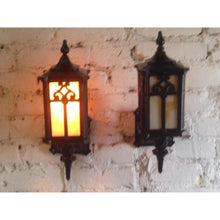 Load image into Gallery viewer, 1920s Cast Iron Porch Sconces