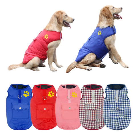Waterproof Vest Jacket Chihuahua Pug French Bulldog Clothes SIZE S TO 3XL