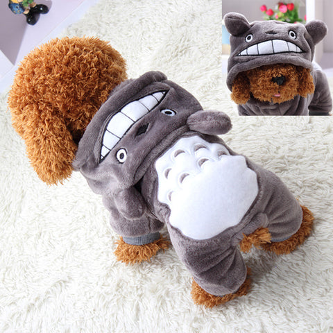 Small Soft Clothes Cartoon Pet Outfit