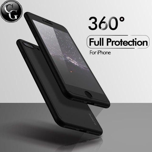 360 Full Protective Tempered Glass Case
