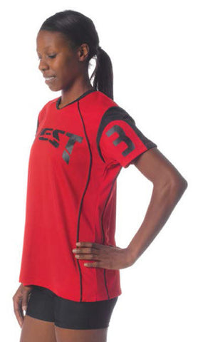 "NW3260V Ladies Color Block ""Spike"" Volleyball Jersey"