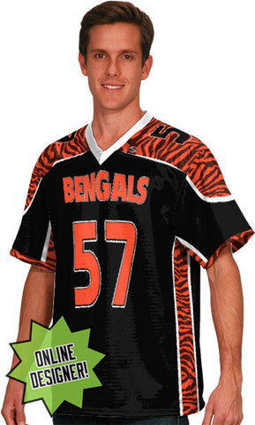 Impact Custom Sublimated Flag Football Jersey