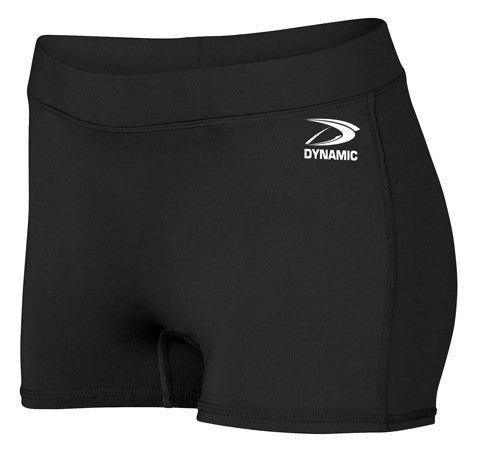 Ladies Custom Sublimated Volleyball Compression Short