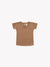 Pointelle Baby Tee | Copper